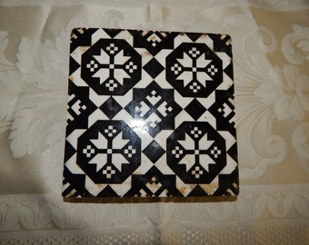 Antique Minton & Co Tile