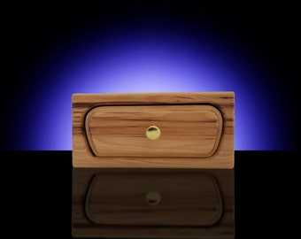 Natural Hickory Organizer Drawer - Bandsaw Box