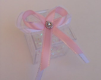 Baby shower favors, baby girl
