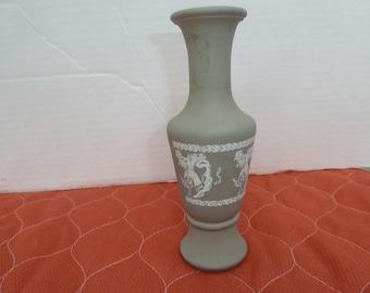 Glass Vase Grecian Urn Shape