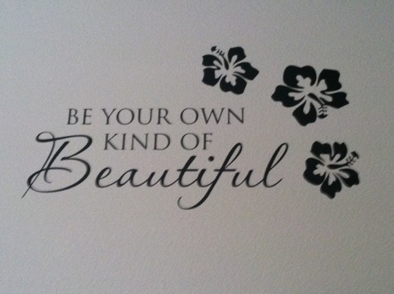 Be You Beautiful Inspiration Bathroom Vinyl By