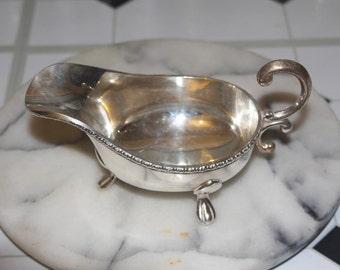 Vintage Silver Plate Saucer
