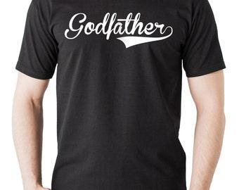 Godfather T-shirt Baptism Tee Christening Tee