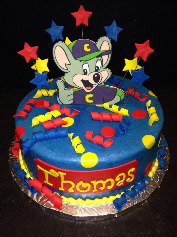 Chuck E Cheese Birthday Cake Ideas