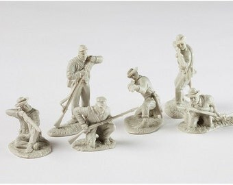 Cunnyngham Collectibles Plastic Civil War Toy Soldiers