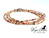 Pearls size string Baya Enange - sunset | WEYA BEADS