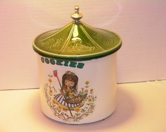 McCoy Mary Mary Quite Contrary Nursery Rhyme Cookie Jar