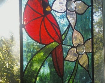 Cardinal Stained Glass