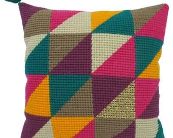 "cushion in canvas ""GEOMETRIC"" 1"