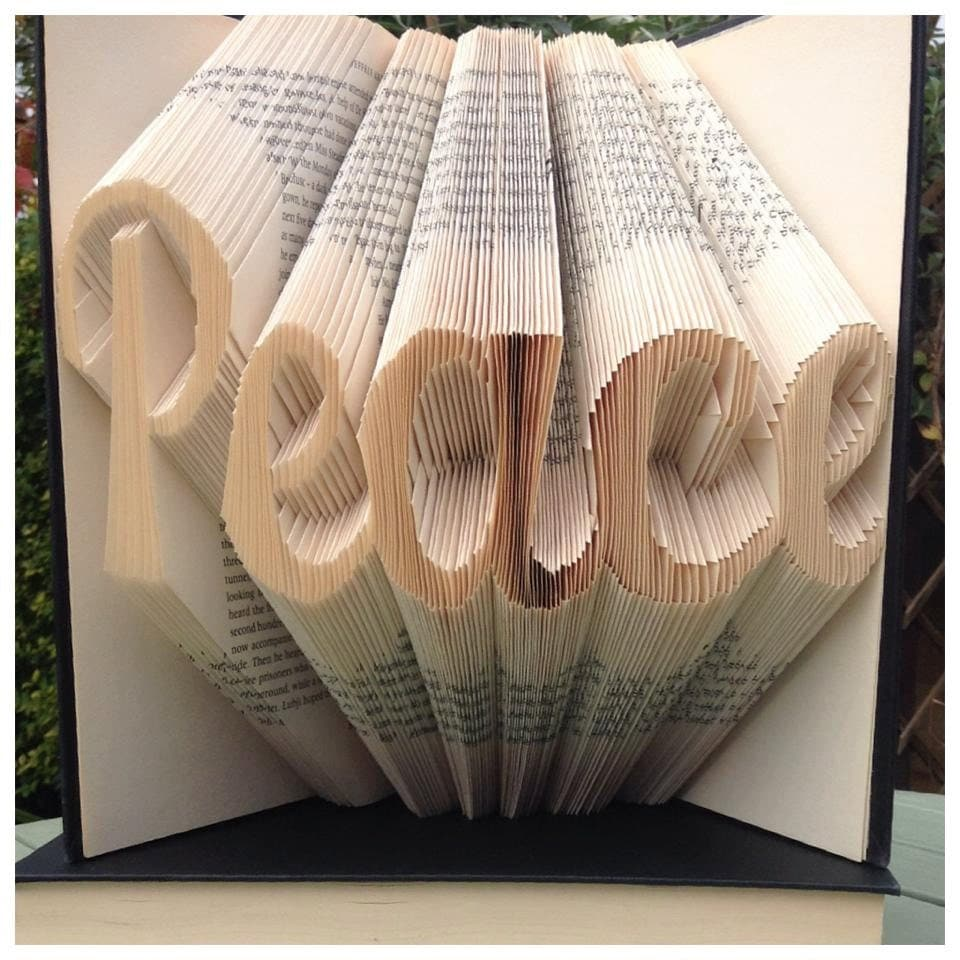 Free Book Folding Patterns Custom Inspiration Design