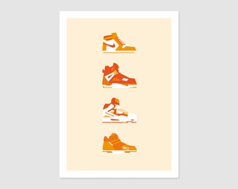 Print - Poster Sneakers No1 - 50x70