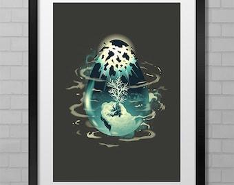 Chrono Trigger: Trigger of Life - A1 & A2 Poster