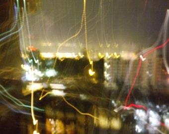 City Lights Print