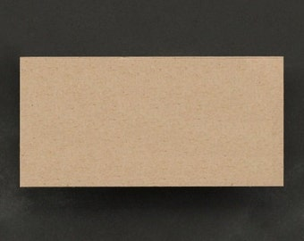 Kraft Paper Blank Rustic Place Cards Party Supplies (Pack of 50)