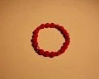 Bracelet whit red beats