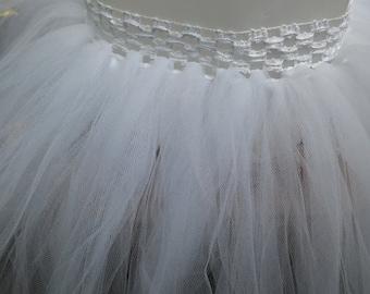 White Tutu Skirt ~ Ready To Ship!