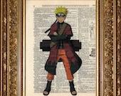 Naruto Sage Mode (Naruto) Print