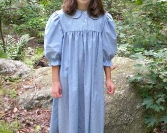 Custom Girls High Yoke Prairie Dress