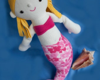 Maya the Mermaid - PDF Sewing Pattern with Step-by-Step Photos and Easy Instructions