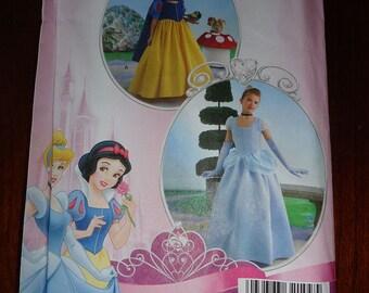 Simplicity 2817 Disney Princess Halloween Costume Sewing Pattern sz 7 to 14 UNCUT