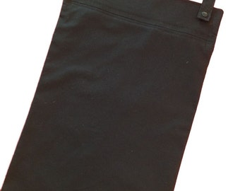 Black Kitchen Wetbag - 13x20 laundry bag for your kitchen linens