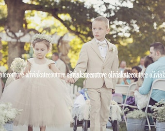 As seen on Style Me Pretty Flower Girl