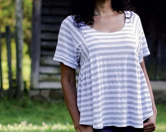 Paloma Top Tunic and Dress - Sewing Pattern - Sew Liberated