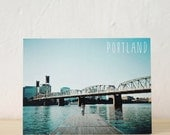 Hawthorne Bridge Postcard
