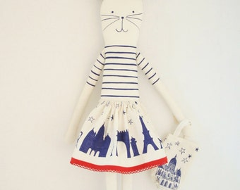 I love Paris rabbit diy kit