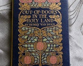 Handbound Artist Journal from vintage Out-Of-Doors In The Holy Land