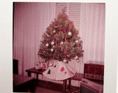 Vintage Photo Slides - Giant Large Format - 120 film - Christmas photography - film slides