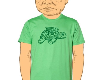 Flying Tortoise Mens T-Shirt Small, Medium, Large, XL in 6 colors