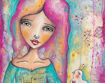 Muse Erato of Love Poetry - Art Print