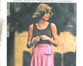 UNCUT Basic Wrap Skirt Size Small Waist 24 25
