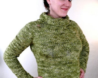 KNITTING PATTERN- Libretto Sweater Pullover PDF Download