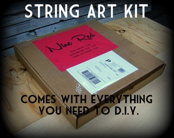 DIY String Art KIT - Otis the Owl - All supplies included!