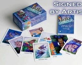 Higher Intuitions Oracle Deck illustrated by Johna Gibson Bowman.  Signed by artist - autographed copy - whimsical animals