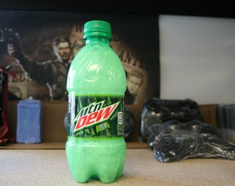 Mountain Dew type shampoo, 12-ounces. INVENTED BY DIGITALSOAPS, Gift for Gamers, Video Game Soda Soap