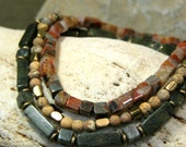 Mens Bracelet, Stretch Bracelet, Jasper Stone Bracelet, Mens Jewelry, Gemstone Bracelet, Beaded Bracelet