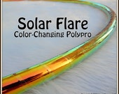 "CoLoR-CHaNGiNG 'SOLAR FLARE' Hula Hoop  - Available in 3/4"" AnD 5/8"" OD Polypro! Pro Hoops with Over 30,000 Sold!"