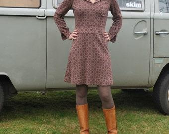 Vintage 70's Swiss Made Knit Mini Dress
