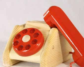 Toy Telephone Rotary Dial Toddler