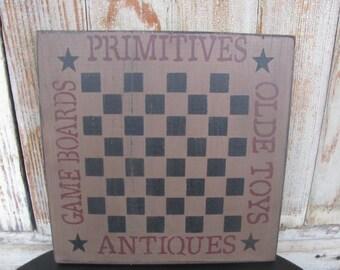 Primitive Country Gameboard Checkerboard GCC-4957