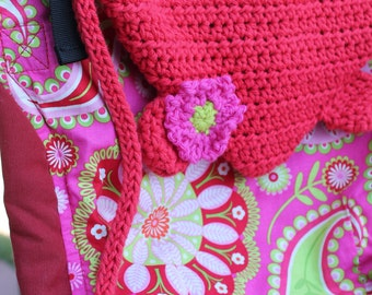 CUSTOM Crocheted Soft Structured Baby Carrier HOOD ONLY Tula Ergo