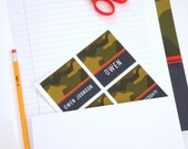 Personalized Stickers - CAMO Collection