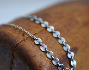 Crazy love...sterling silver necklace