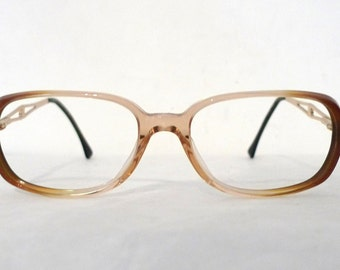 Vintage Luxottica Italy Eyeglass Frames / Bigger Prescription Quality Eyewear/ Sunglasses