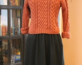 Nutmeg Chunky Knit Sweater