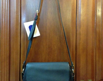 DOONEY & BOURKE - Vintage NWT Napa Collection Compartment Flap Bag Black