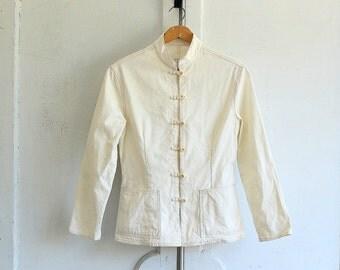 SALE vintage MOSCHINO jacket Nature Friendly Garment xsmall